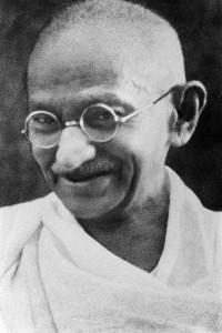 Mohandas K. Gandhi vers la fin des années 1930. (Photo: domaine public)