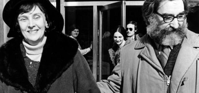 Simonne Monet-Chartrand et Michel Chartrand en 1971. (auteur: Paul-Henri Talbot)