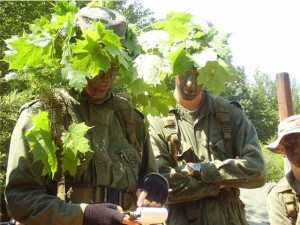 Orientation et camouflage