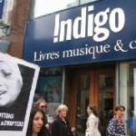 Boycott devant Chapter's & Indigo