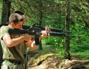 Tir avec une arme léthale
