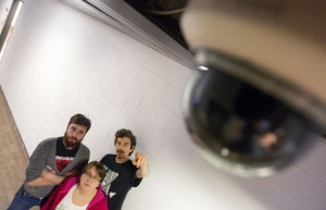 Vidéosurveillance à l'école. (Photo: Annik MH De Carufel)