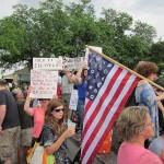 Manifestation contre BP à Jackson Square, Nouvelle-Orléan, après le désastre du Golfe du Mexique. (Photo: domaine public)