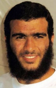 Omar Khadr à Guantanamo Bay en 2009. (Photo: inconnu)