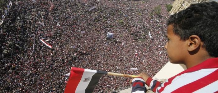 La marche de la victoire de l'Égypte, 18 février 2011.