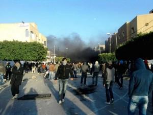 Sidi Bouzid, 24 décembre 2010. (Photo: Max PPP)