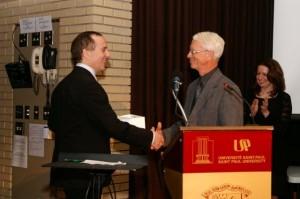 Brian Bronfman et Kendel Rust: Soirée de Graduation ICRC 2010. (Photo: inconnu)