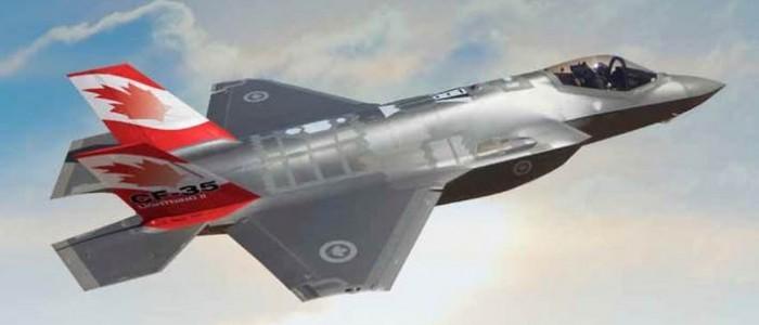 F-35 canadien. (Photo: inconnu)