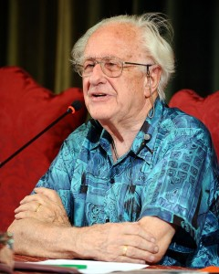 Johan Galtung. (Photo: Niccolo Caranti)