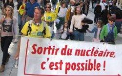 Sortir du nucléaire. (Photo: inconnu)