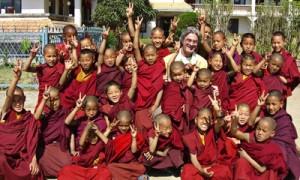Au Népal, 2008. (Photo: inconnu)