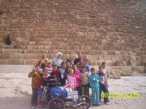 En Égypte. (Photo: inconnu)