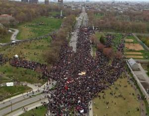 Manifestation Jour de la Terre, 2012. (Photo: inconnu)