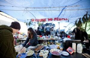 La Cuisine du Peuple, Occupons Montréal. (Photo: Marco Campanozzi)