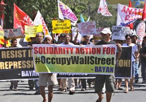 Occupy Wall Street, 19 octobre 2011, Manille, Philippines. (Photo: AP)