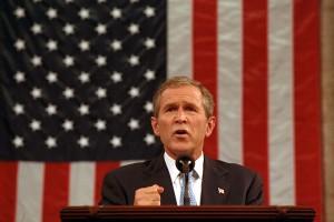 20 septembre 2001: Bush souhaite défendre la liberté américaine contre la peur du terrorisme. (Photo: domaine public)