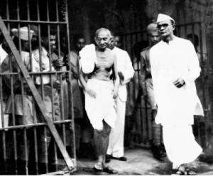 Mahatma Gandhi à la prison de Dum Dum. (Photo: domaine public)