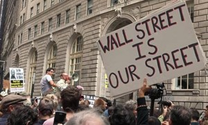 Occupy Wall Street, 17 septembre 2011. (Photo: Steven Greaves)