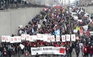 """""""Bloquons la hausse"""", 2012. (Photo: inconnu)"""