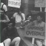 Occupation pour Overdale, 1987. (Photo: inconnu)
