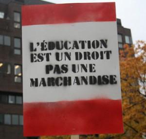 Grève étudiante. (Photo: CC)