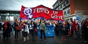 Manifestation organisée à l'occasion de la journée internationale des femmes, le 8 mars 2012. (Photo: inconnu)