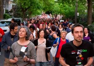 Manifestation populaire: Concert de casserole contre la loi spéciale. (Photo: inconnu)
