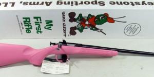 Arme à feu Crickett .22 spécialement faite pour les enfants. (Photo: crickett.com)
