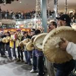 Flash mob dans un centre commercial de Edmonton,18 décembre 2012.