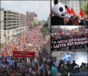 Grève étudiante québécoise, 2012.