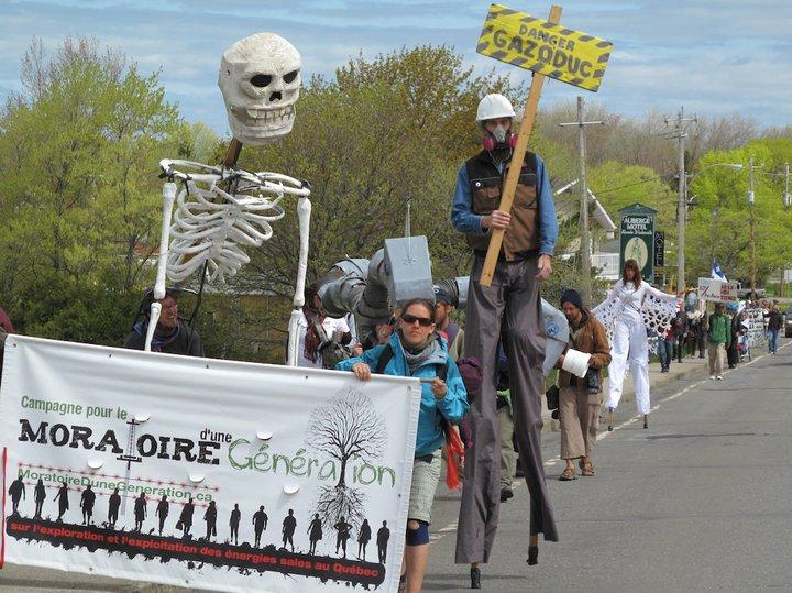 Marche de 600km Rimouski-Montréal (Photo: domaine public)