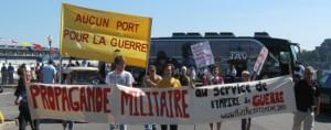 Action anti-guerre à Montréal, août 2010. (Photo: inconnu)