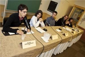 Conférence de presse de la Coalition. (Photo: inconnu)