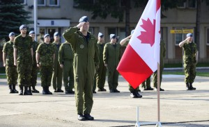 Mai 2014: Forces armées canadiennes. (Photo: Caporal chef Patrick Blanchard)
