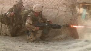 Infanterie canadienne en Afghanistan. (Photo: inconnu)