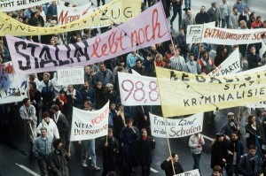 Mass Peaceful Demonstration in East Berlin, November 4, 1989. (Photo: Michael Richter)