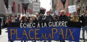 Manifestation anti-guerre à Montréal. (Photo: inconnu)