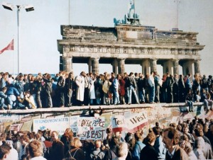 The Fall of the Berlin Wall, 1989. (Photo: CC)