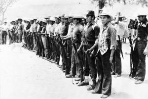 Membres de la patrouille civile du nord du Guatemala en mars 1982. (Photo: domaine public)