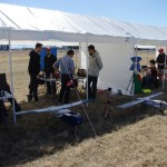 Compétition étudiante de drone, Université Concordia. (Photo: inconnu)