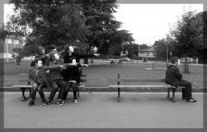Exclusion. (Photo: Mademoiselle Pinot et ses élèves, Collège Joliot-Curie Vivonne)
