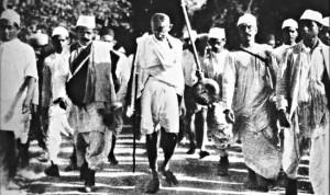 Mouvement de non-coopération et de non-violence mené par Gandhi. (Photo: CC)