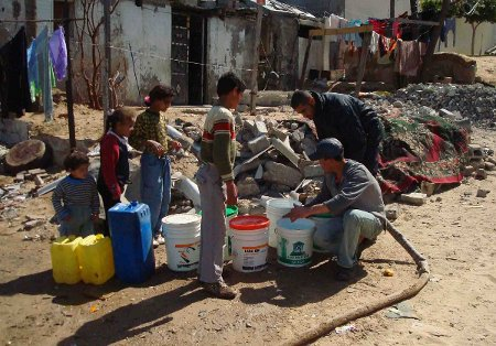 Projet Palestine: Clean Water for Gaza. (Photo: inconnu)