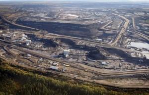 Le pétrole des sables bitumineux d'Alberta. (Photo: DR)