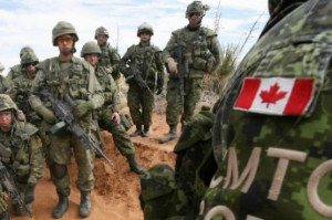 Forces armées canadiennes. (Photo: AP)