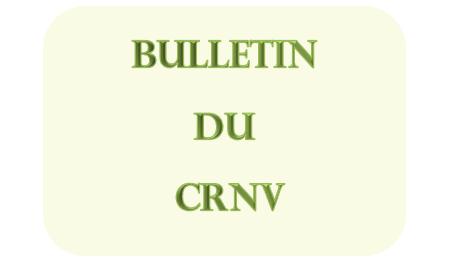 Bulletin du CRNV