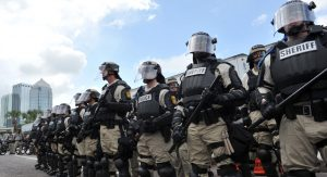 riot-police